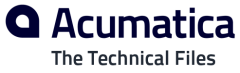 Acumatica Developers Blog