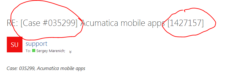 Custom Tags in Acumatica Email