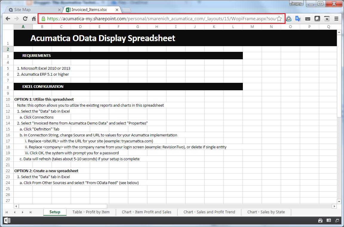 Excel File Online