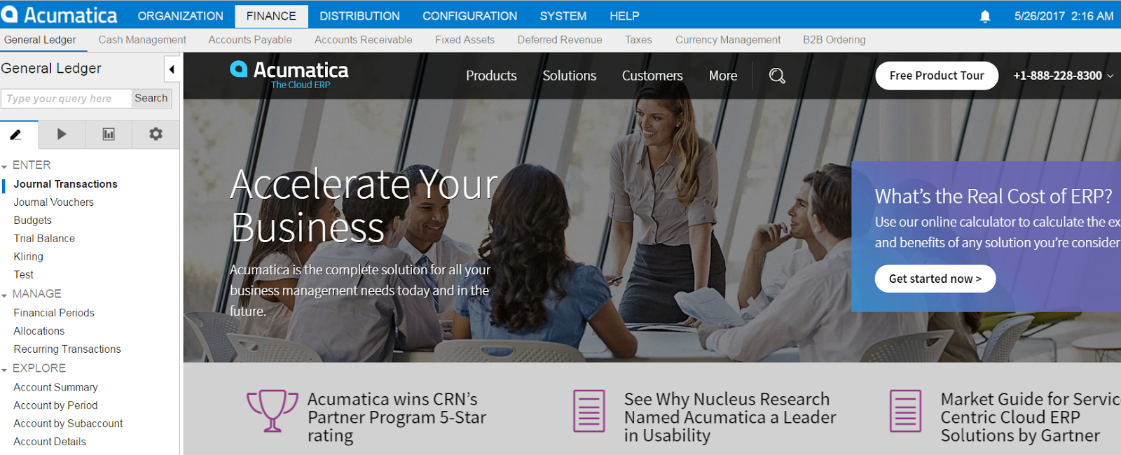 custom pages acumatica