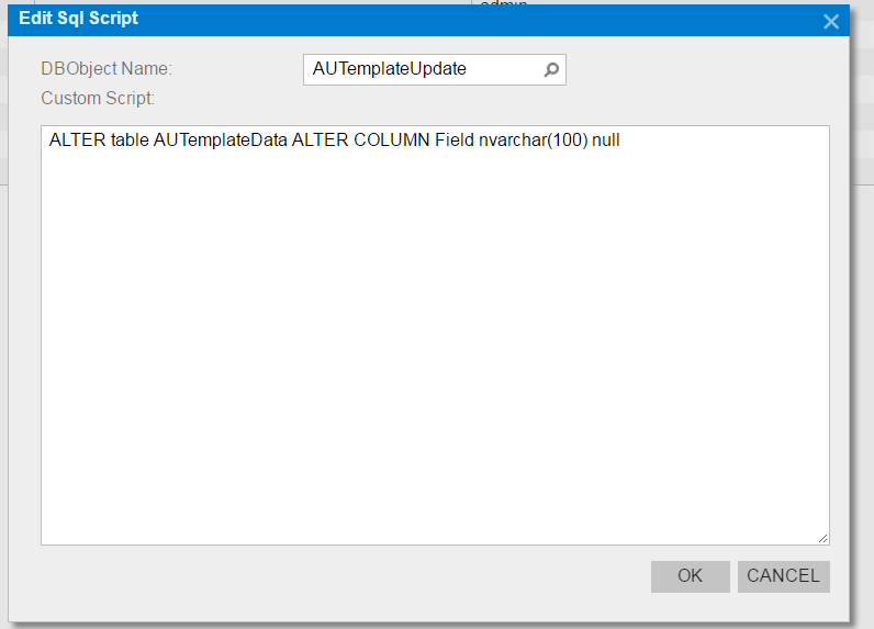 SQL scripts acumatica