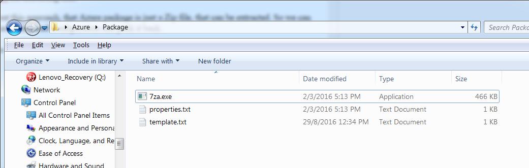 folder contains acumatica