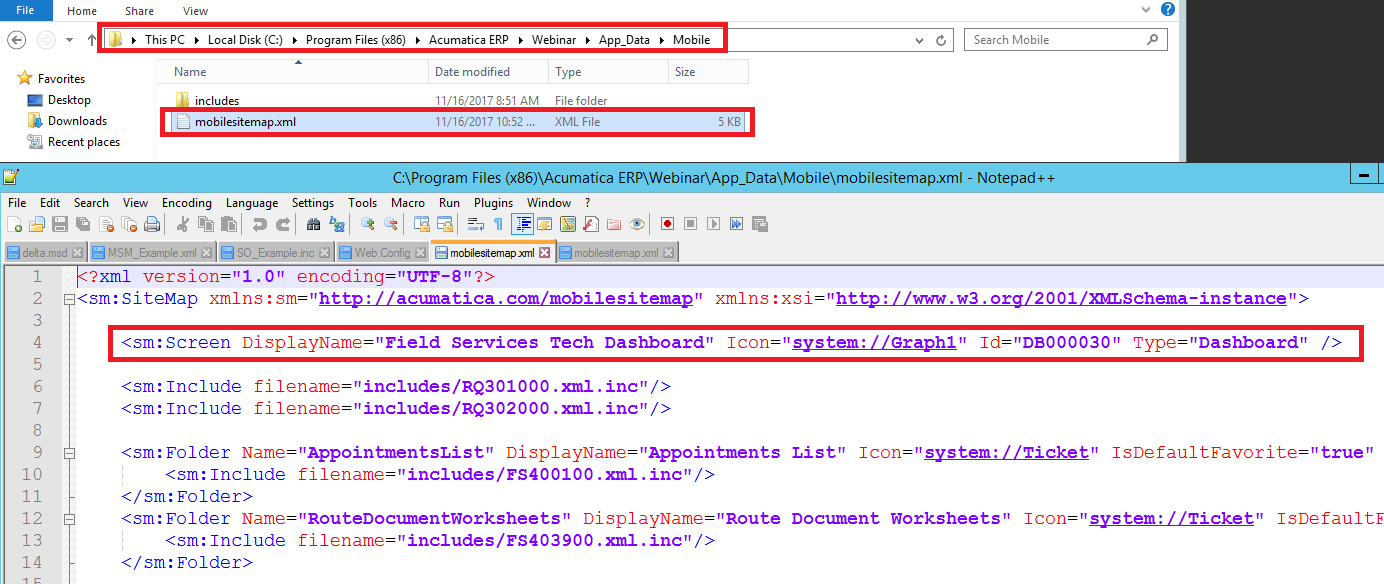 dashboards and reports on mobile acumatica developers blog