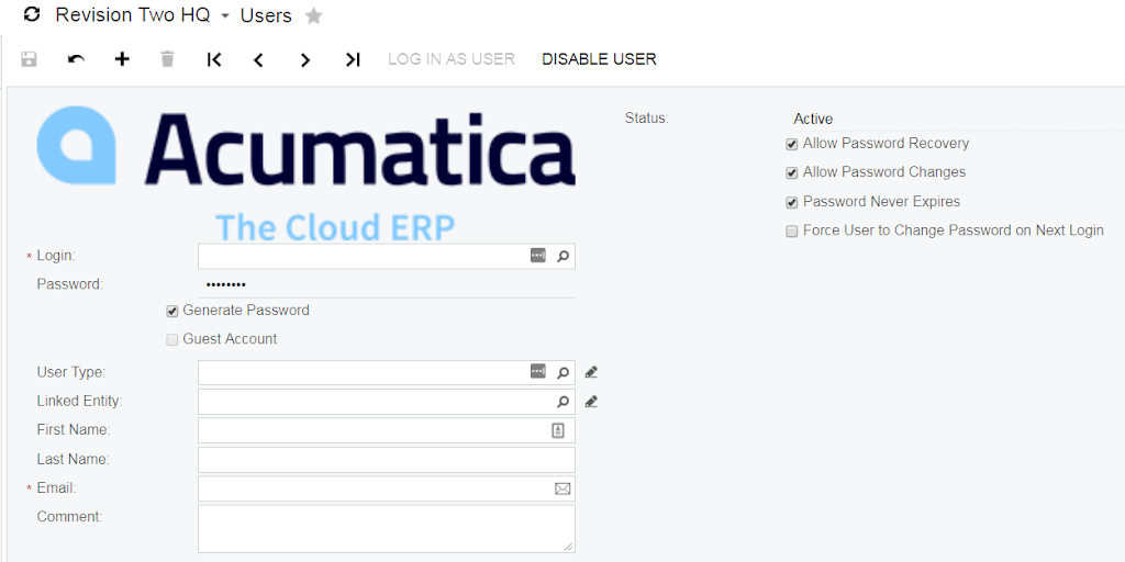 Custom Image on Acumatica Form