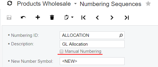 Auto-Numbering Customization