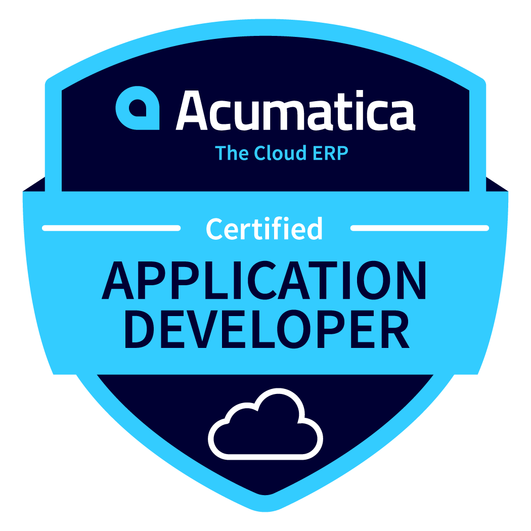 Acumatica Application Developer