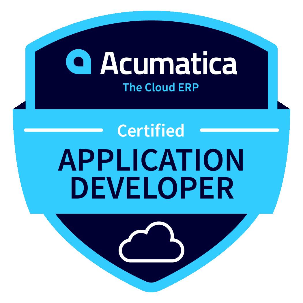 Acumatica Application Developer